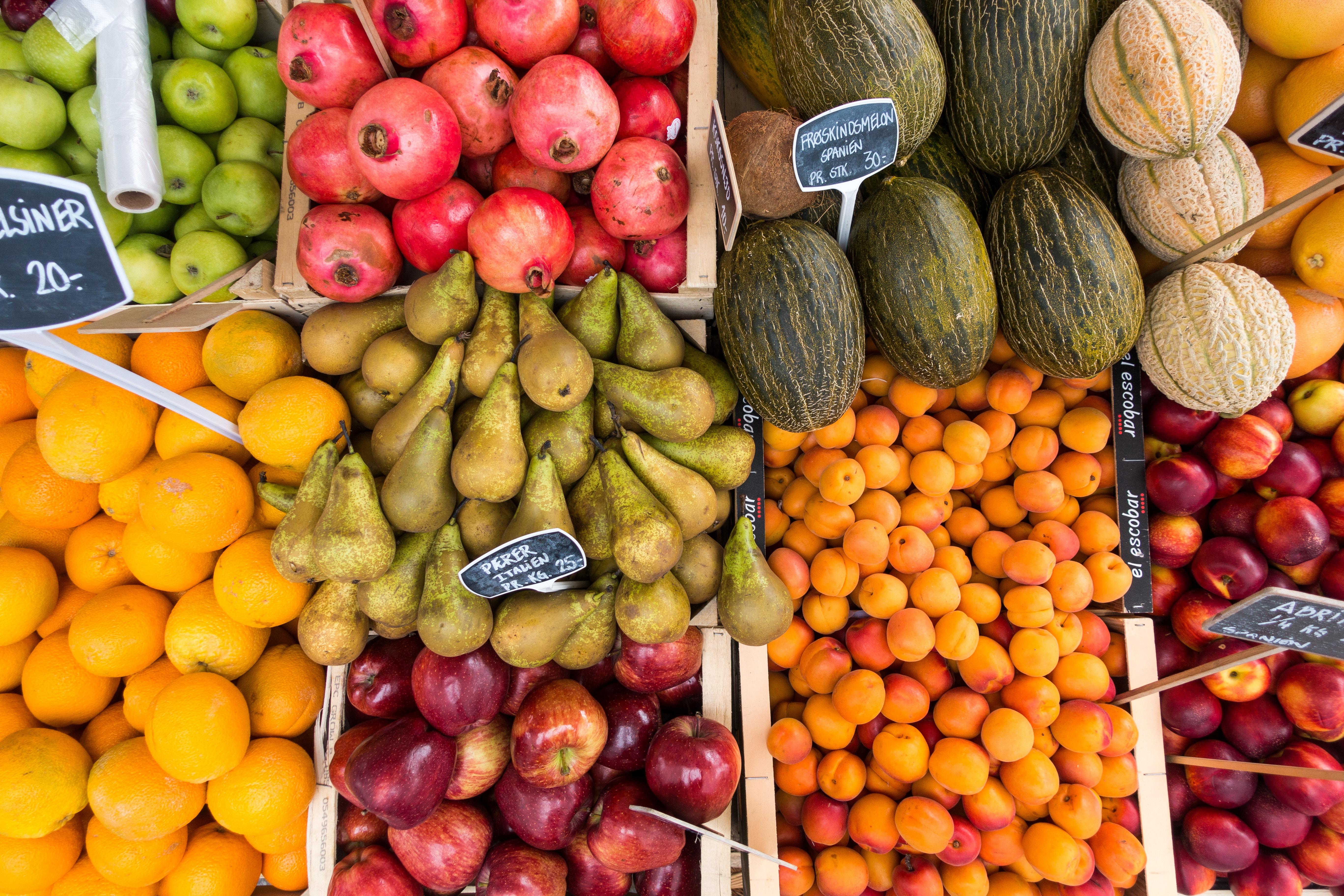 Fruit flatlay